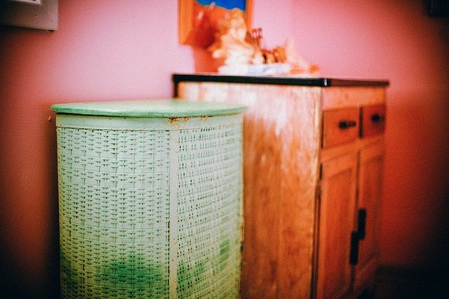 where to keep laundry basket - Do not Do This in the bathroom