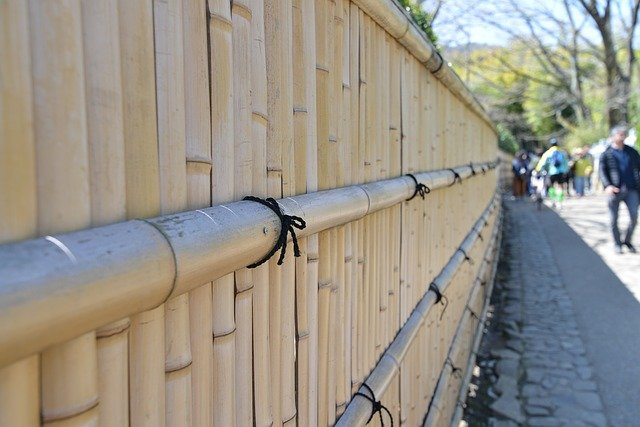 Innovative Fence Design - Bamboo fence