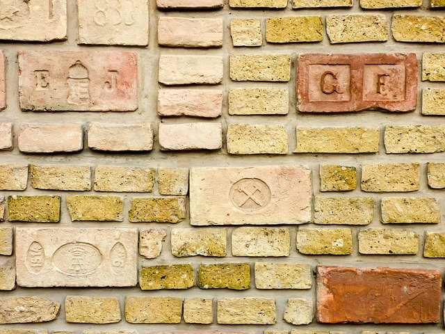 Innovative Fence Design - Brick walls