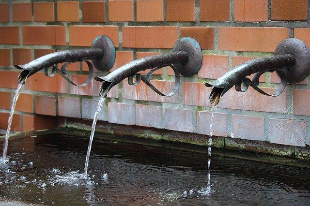 Inspiration falls wall fountain