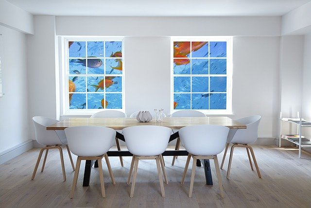 Feng shui money area - The fish is a symbol of Prosperity