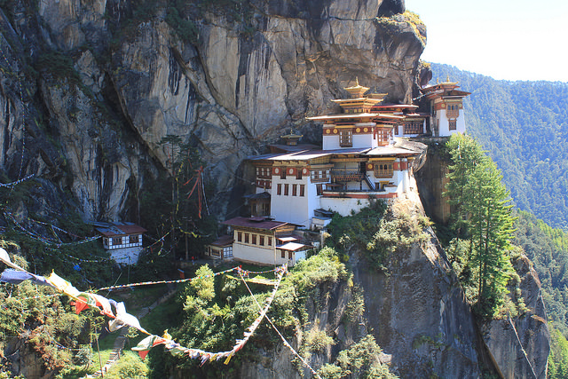 Most remote buildings in the worldParo Taktsang-one-of-the-