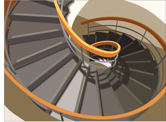 Stair designs for small houses - Spiral staircase