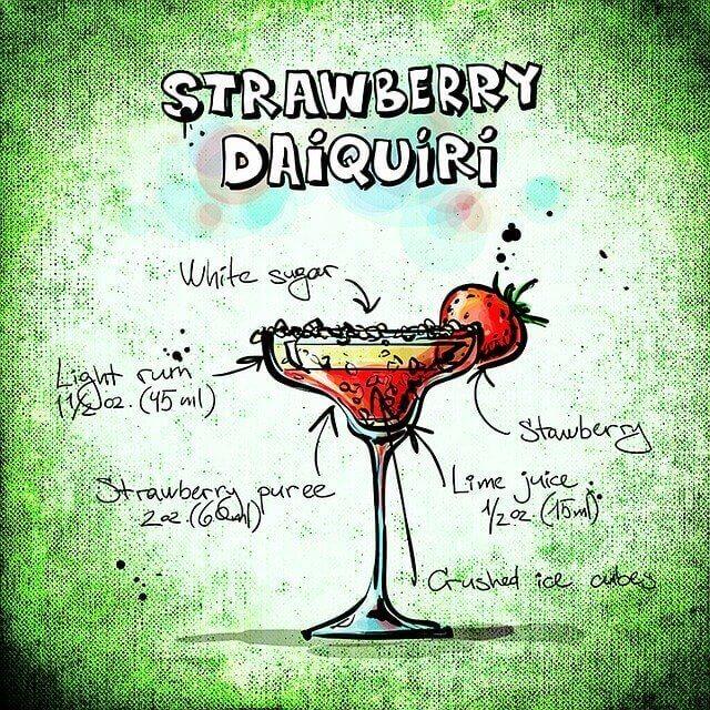 Strawberry Daiquiri Recipes