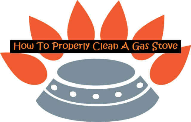 How To Properly Clean A Gas Stove in The burner