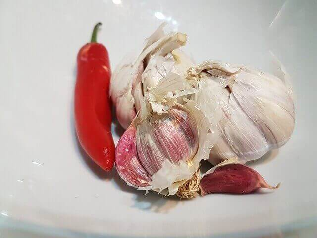 How To Store Chillies For Longer Time with garlic