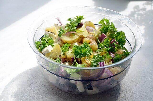 Making The Perfect Potato Salad